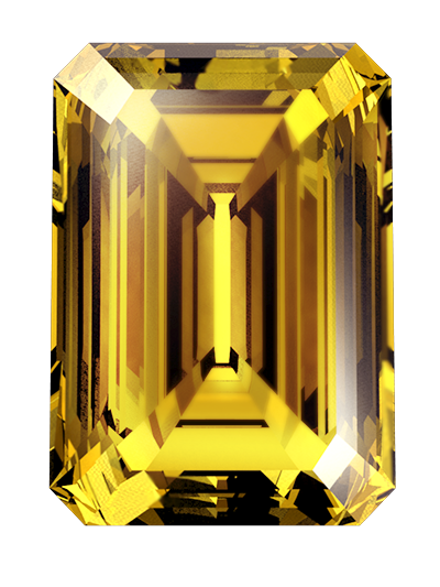 amber color cremation diamonds